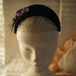 Lilac & Spot Headpiece (48€)
