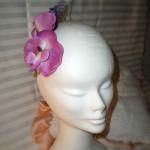 Violet Orchids & lilac pin (venduto)