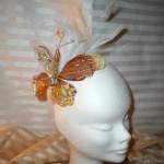 Golden Plumed Butterfly (venduto)